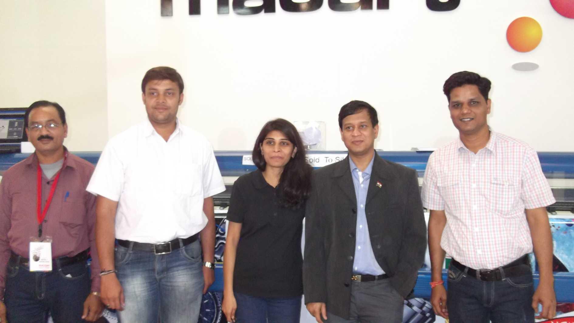 High Speed Solvent Printer India