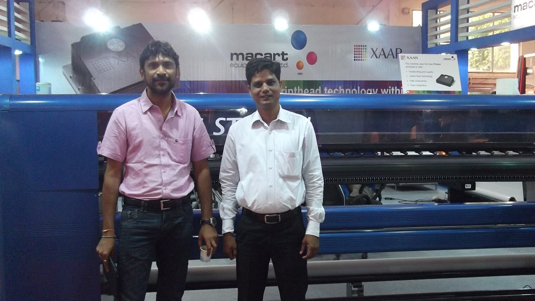delhi exhibition-1, High Speed Flex Printing Machine