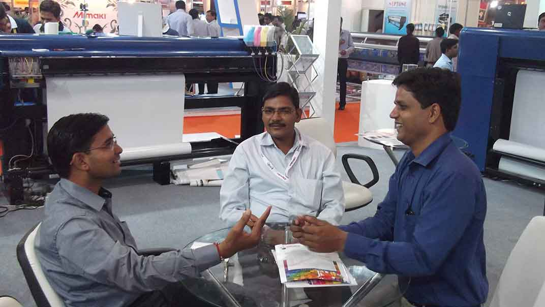 delhi exhibition 10- Economical Flex Printing Machine