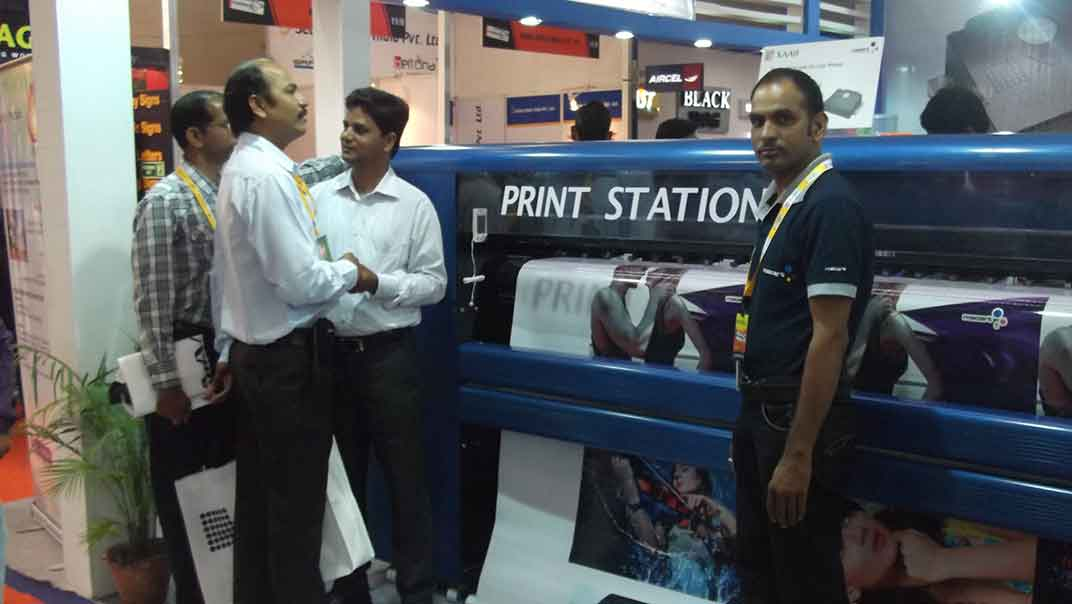 delhi exhibition-11, High Quality Flex Printing Machine India