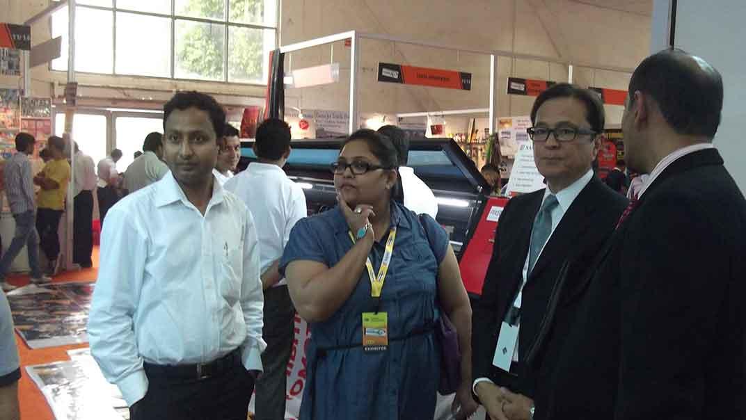 delhi exhibition - Economical Flex Printing Machine Manufacturer in Delhi