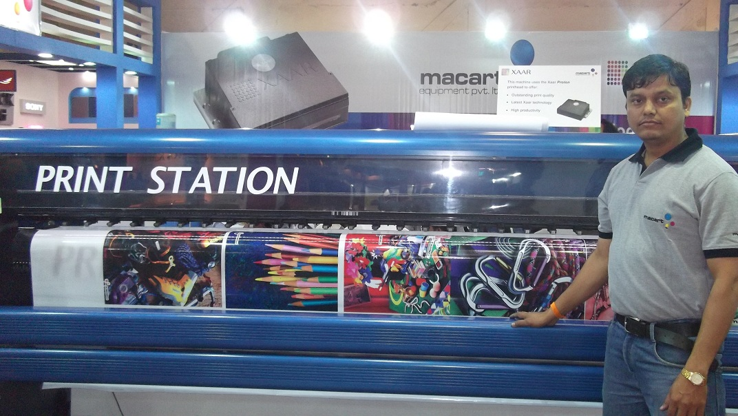 delhi exhibition 3 , Flex Printing Machine India
