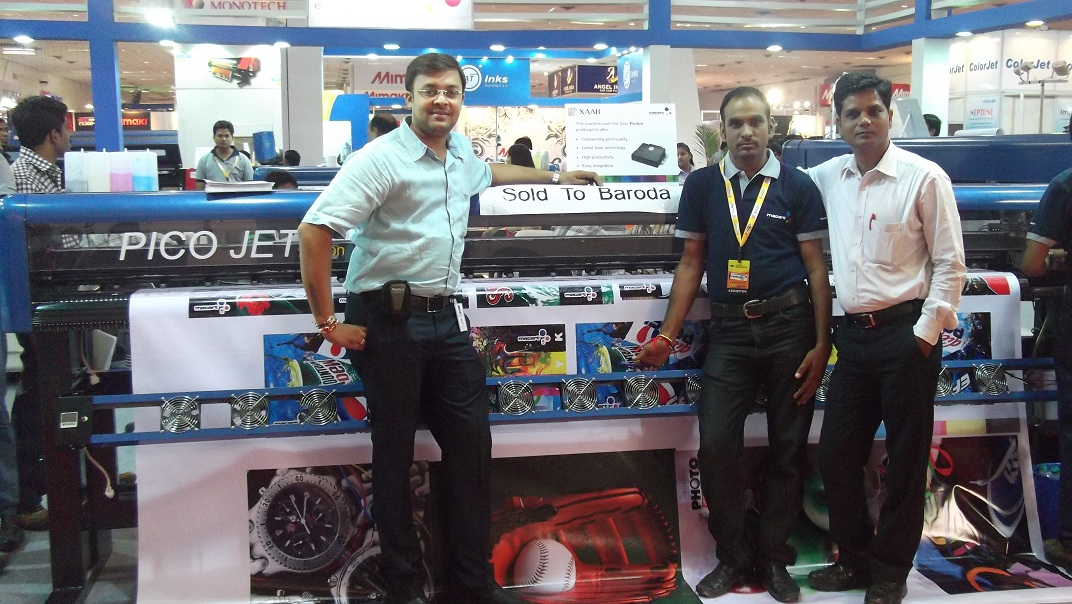 delhi exhibition-4, Digital Flex Printing Machine