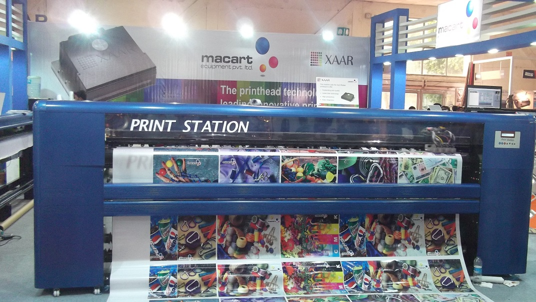delhi exhibition-6 | Digital Flex Printing Machine