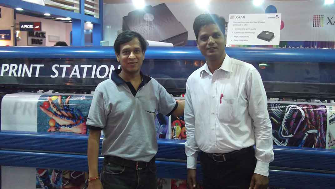 delhi exhibition, Digital Flex Printing Machine