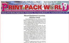 Print & Pack World, Siddharth Printing Machines Pvt. Ltd.